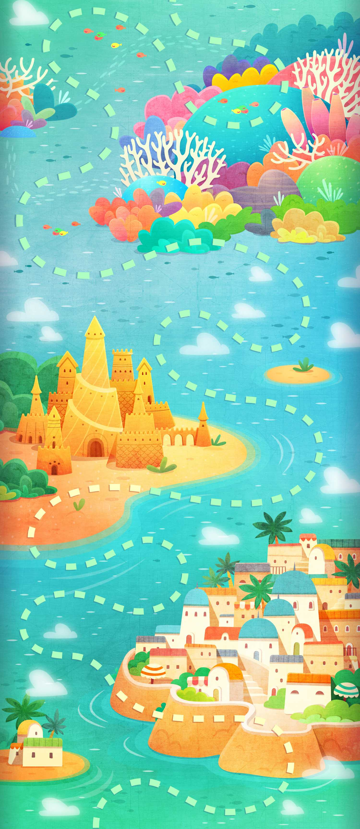 ice cream pop background game map